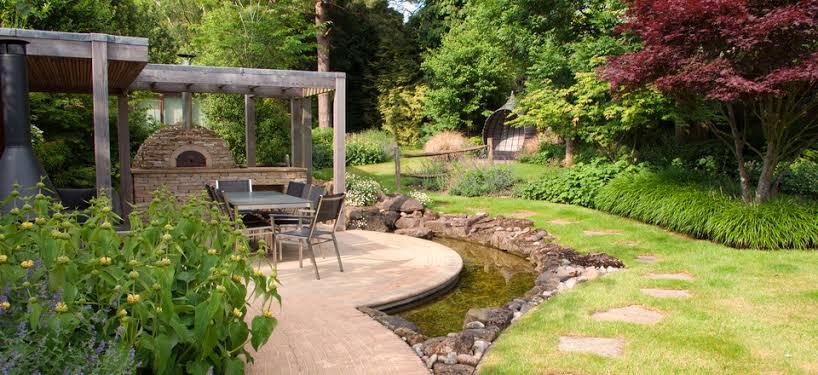 bahçe tasarım örnekleri